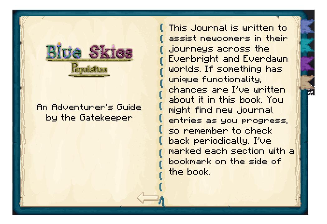 Blue Journal
